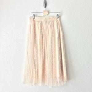 LC • Swiss Dot Tulle Skirt S